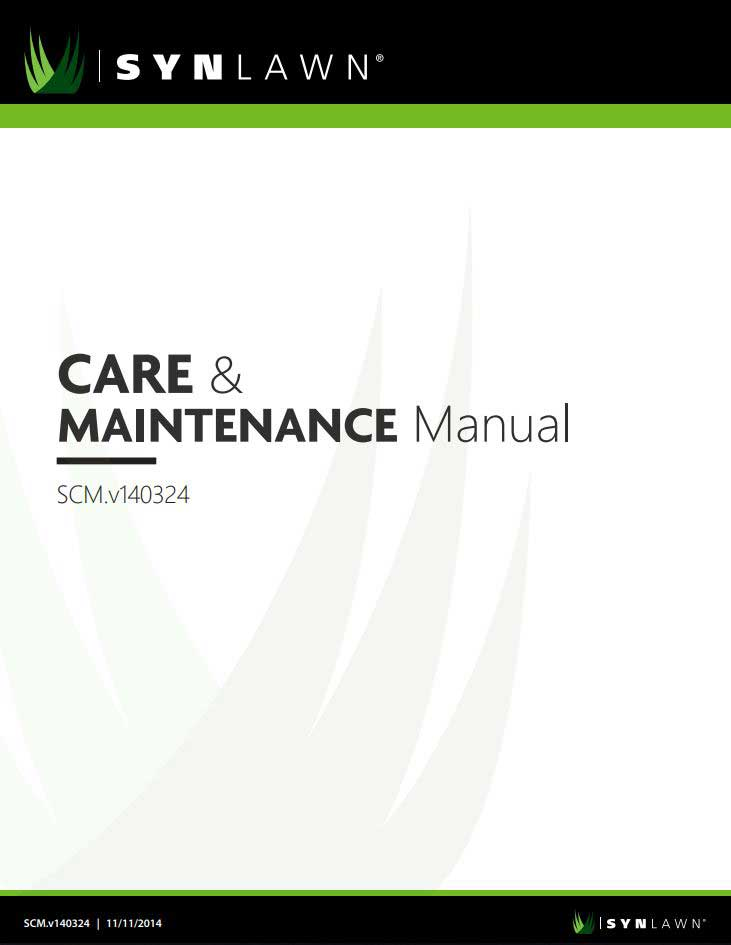 SYNLawn Care and Maintenance Manual